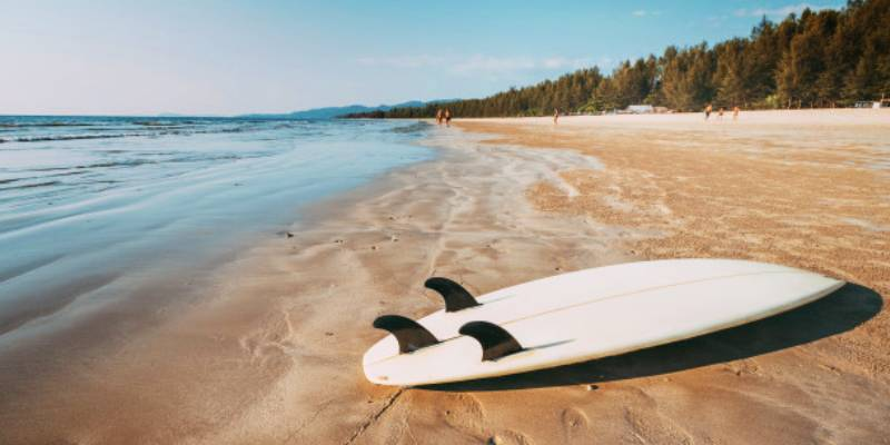 Surfing Gorgeous Australian Beaches