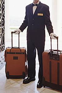 personal butler, concierge and chauffeur at Hermes Estate