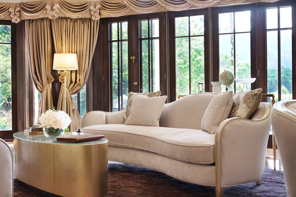 Hermes Estate luxury villa living area